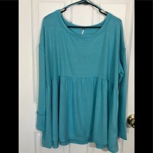 BNWT Free People Woman's Sz. Large Top